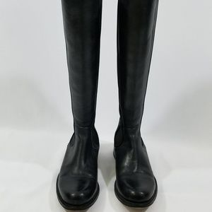 Frye Black Chelsea Tall Leather Riding Boots 8